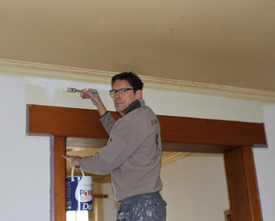 Bewerken van muren en schilderwerken