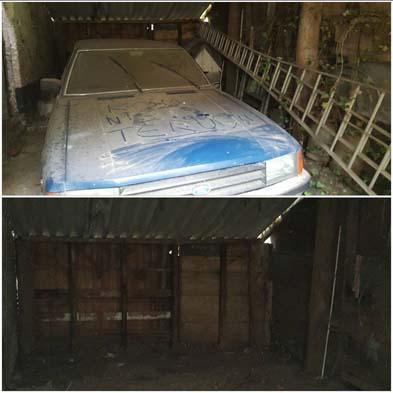 Garage leegruimen