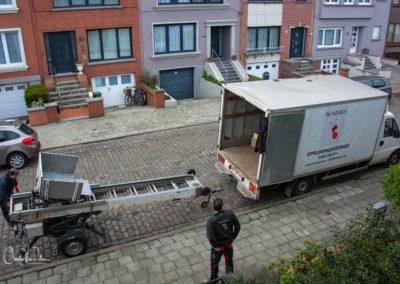 bovenaanzicht vrachtwagen en lift-1